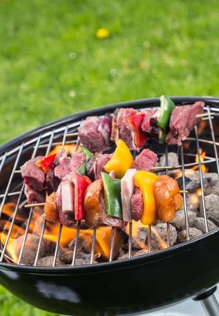 shishkabab: Grilling