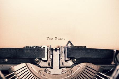 typewriter: Detalle de la máquina de escribir retro con mensaje