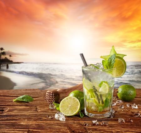 cocteles de frutas: Cóctel de verano