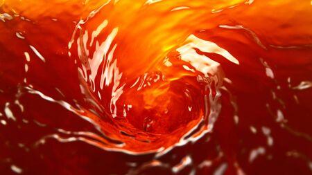 Freeze motion of rotating liquid surface. Stok Fotoğraf