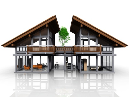 a very nice and design house