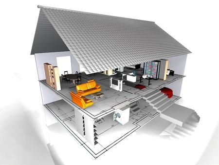 housing plan: the very beautiful house
