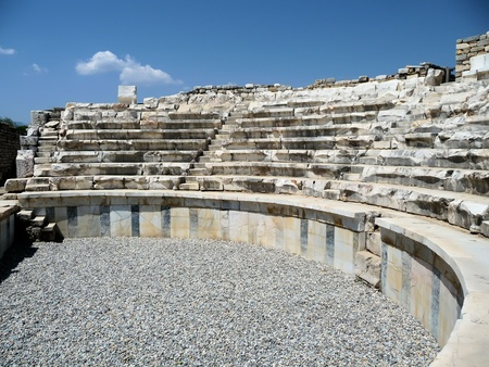 roman amphitheatre: vestigios del anfiteatro romano