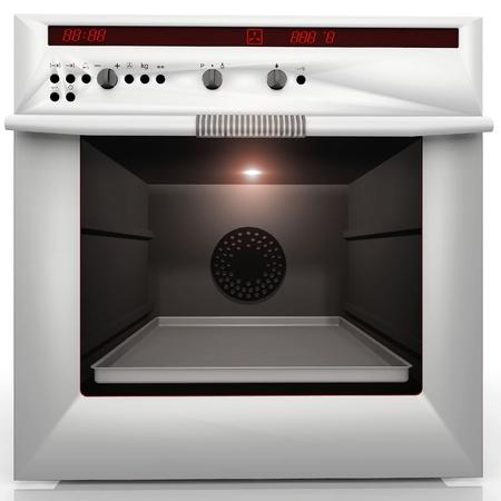 convection: all'interno di un forno a convezione grande