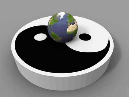 taoisme: de aarde en de ying yang