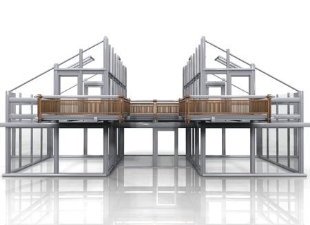prefabricated buildings: la construcci�n de una casa