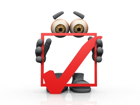 incognito: ok symbol on a white background   Stock Photo