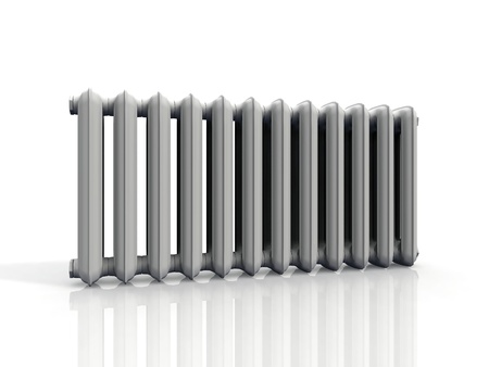 radiator  on a white background