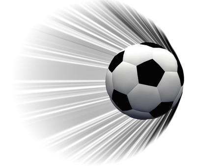 soccerball: movement of an soccer ball