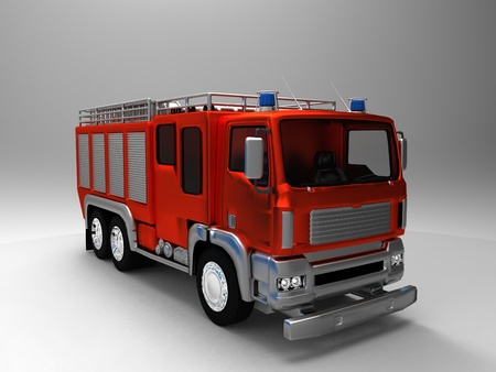 the  fire truck Stock Photo - 11241789