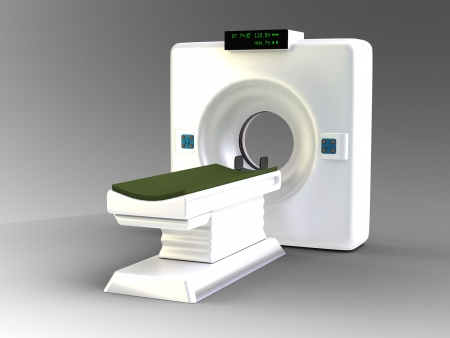 the medical scanner