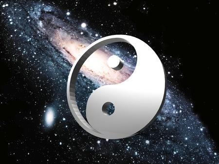 ying yang: the spiral galaxy and ying yang