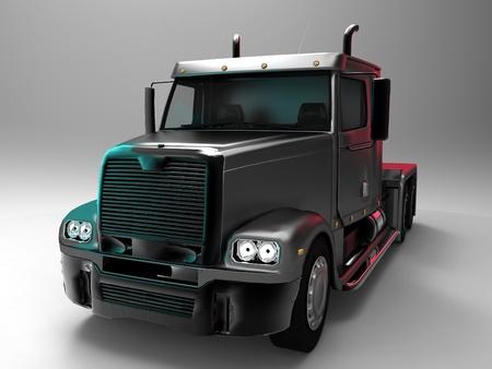 the black truck
