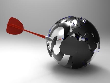 multinational: globalization Stock Photo