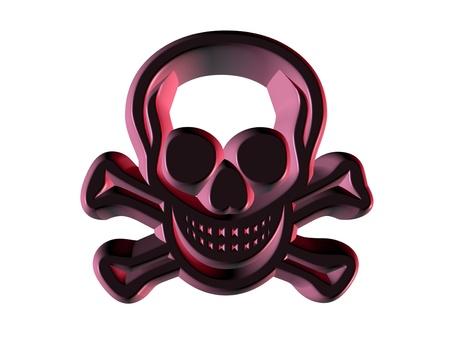 radiotherapy: symbol  of pirates