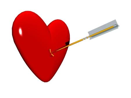 heart  and arrow photo