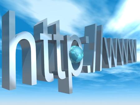 internet adress Stock fotó