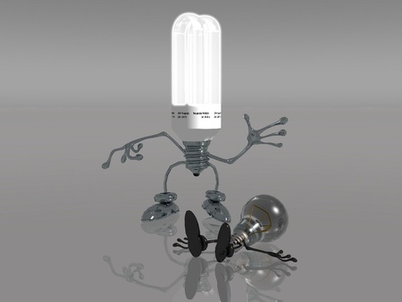 energy  saving bulb photo