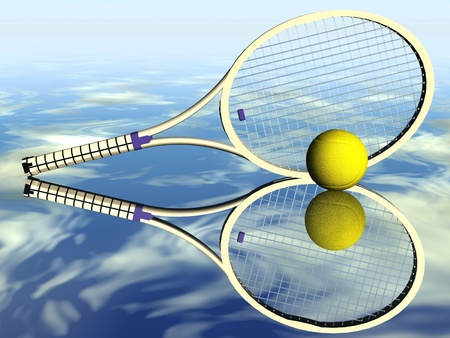 raquet: tennis