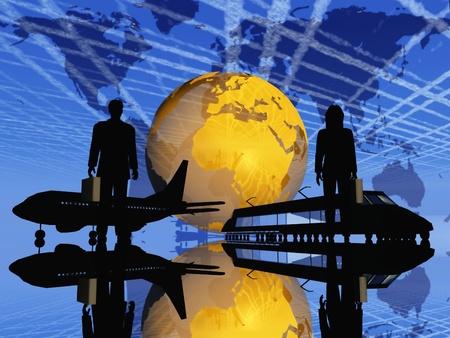 viajero: viaje de negocios