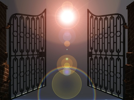 the gates of heaven