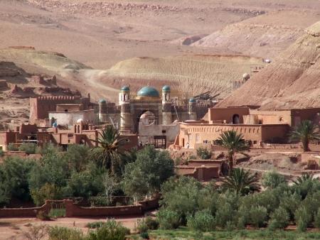 모로코 마을