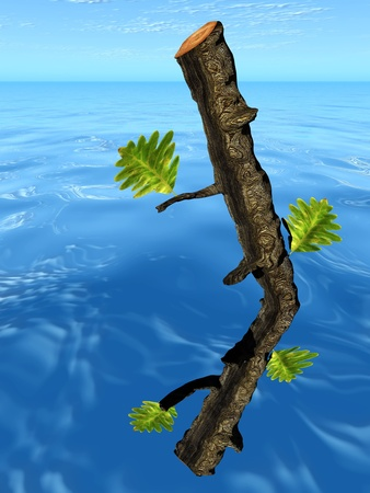 persevere: the tree and the trunk