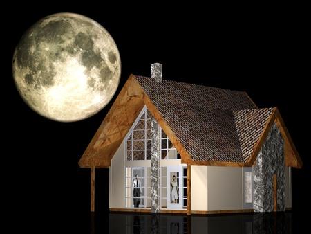 a very beautifull house Stock Photo