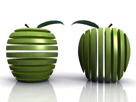 spacing: apples