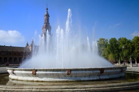 espana: sevilla Plaza De Espana