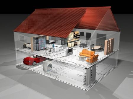 accommodate: the very beautiful transperant house