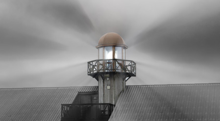 lighthouse and light photo