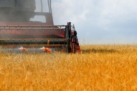 combine harvester: la cosechadora