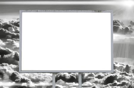 advertising board: advertising board