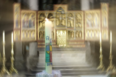 paschal: the paschal candle