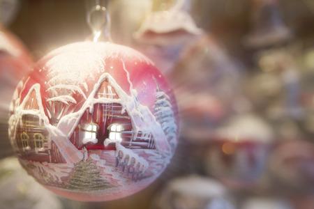 christmas house: the christmas house Stock Photo