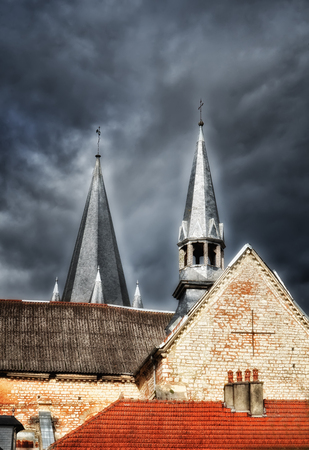 steeples: the church steeples