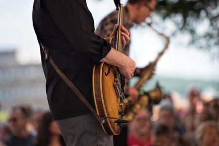 al aire libre: concierto al aire libre