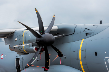 propellers: motor propellers Stock Photo