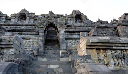 borobudur: Borobudur in Java in Indonesia Stock Photo