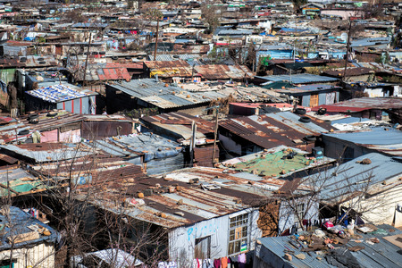 poverty: Soweto town