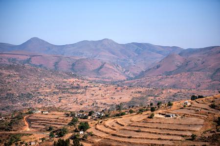 paisaje africano Foto de archivo