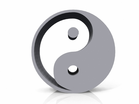 taoism: the ying  and yang symbol