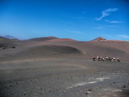 lanzarote: volcanic landscape of Lanzarote