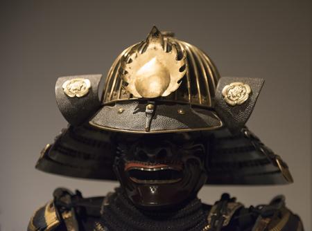 samurai helmet Stockfoto