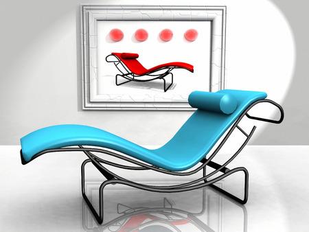 lounge: lounge chair