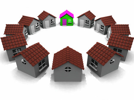 housing project: round the houses