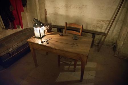 jail of Conciergerie in Paris