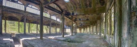 The abandoned rotunda of Benestroff