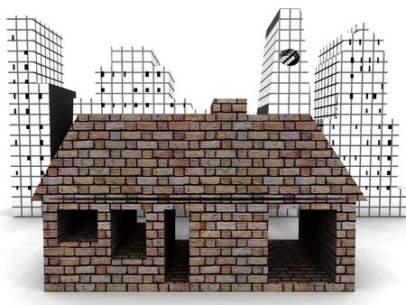 a very modern house Stockfoto - 121746530
